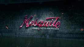 Mesquite Championship Rodeo motion graphic Logo w/Background