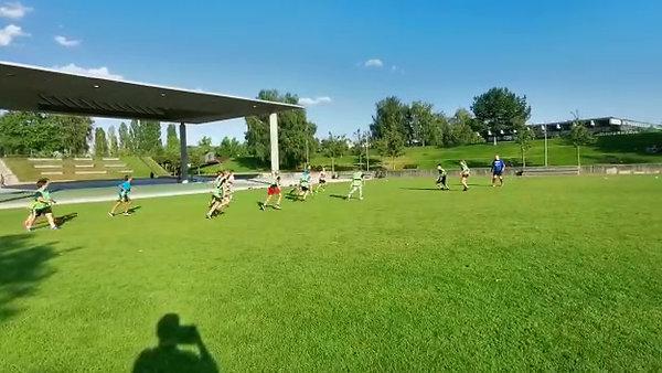 Training der U14 mit Tec-Rugby