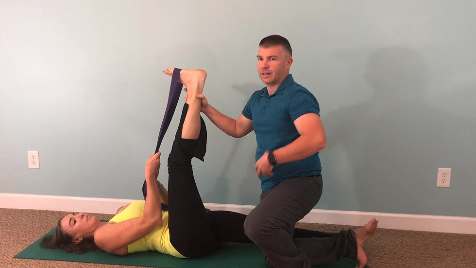 Hamstring Stretch  3 Way