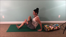 Piriformis Seated Stretch Floor