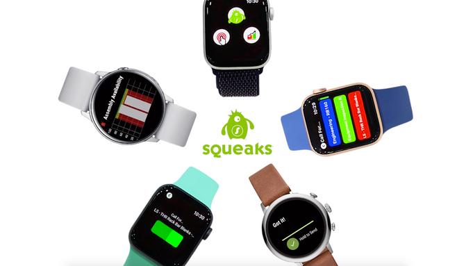 SQUEAKS Watch