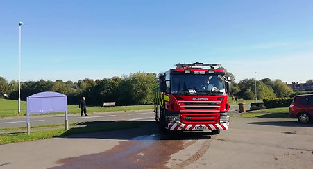 Such a great morning with the fire brigade