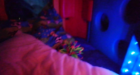 Our new sensory tent