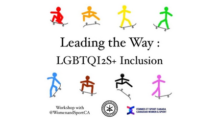 Leading the way: LGBTQI2S+ Inclusion