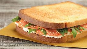 Big Toast al Salmone