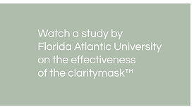 claritymask proven effectiveness