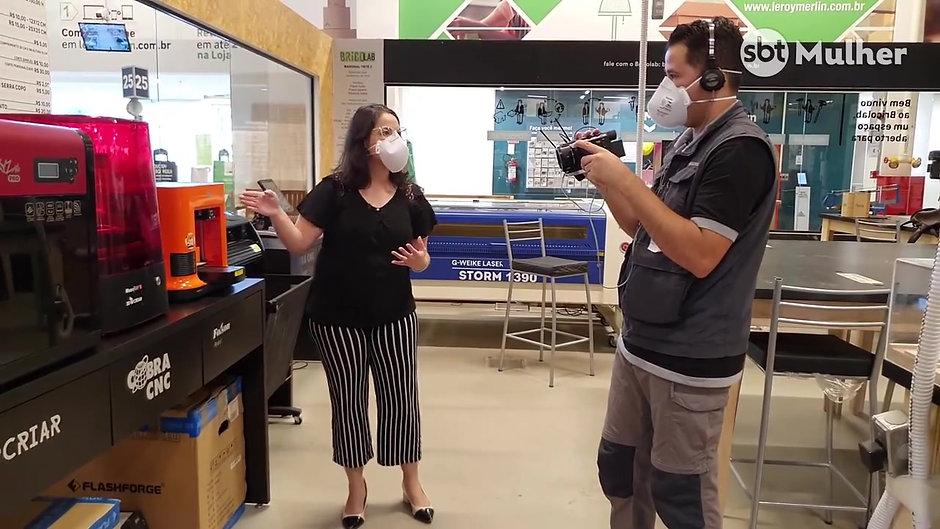 Engenheira Biomédica reúne voluntários para produzir equipamentos de proteção para profissionais da saúde. Ep. 59