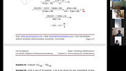 Permutation and Combination - Part 4 - CA Foundation - May 2021 - Lecture 60 - Date 28-05-2021