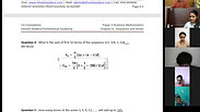 Sequence and Series - Part 1 - CA Foundation - May 2021 - Lecture 53 - Date 18-05-2021