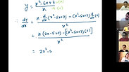 Derivative - Part 1 - CA Foundation - May 2021 - Lecture 65 - Date 07-06-2021