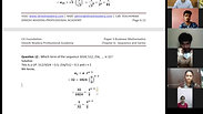 Sequence and Series - Part 2 - CA Foundation - May 2021 - Lecture 54 - Date 19-05-2021