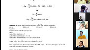 Sequence and Series - Part 3 - CA Foundation - May 2021 - Lecture 55 - Date 20-05-2021