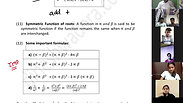 Equation - Part 3 - CA Foundation - May 2021 - Lecture 46 - Date 19-04-2021