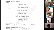 Integration - Part 1 - CA Foundation - May 2021 - Lecture 73 - Date 17-06-2021