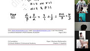 Equation - Part 4 - CA Foundation - May 2021 - Lecture 46 - Date 19-04-2021