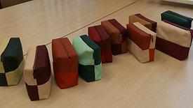 Siuvimo reikmenų dėklas: projektavimas ir siuvimas