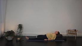 Restorative yoga - zware benen