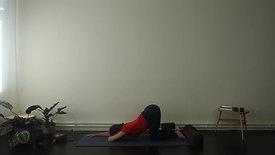 Yin yoga & pranayama - cooling down