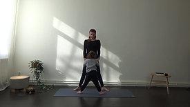 Ouder kind yoga - voor kleuters 2