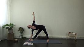 Calm down Hatha yoga
