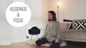 Meditatie - helderheid en focus