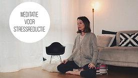 Meditatie voor stressreductie 20'