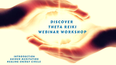 Discover Theta Reiki webinar workshop