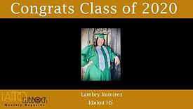 2020 High School Grads in Latino Lubbock Magazine Video