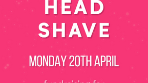 Charity Head Shave [Social Media]