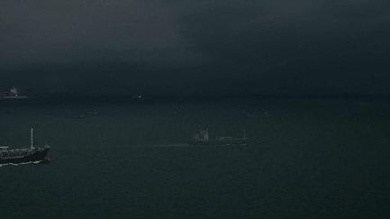 """Ausschnitt """"Überfahrt"""" - eine Video-Text-Sound Performance mit Roman Ehrlich und Michael Disqué"""