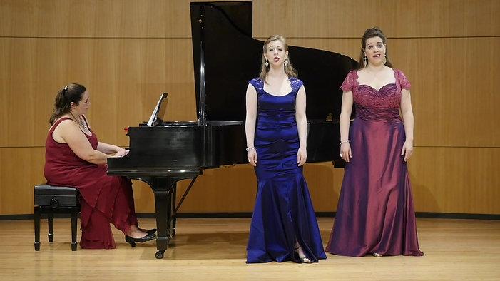 """The Bel Canto Beauties perform """"Pie Jesu"""""""