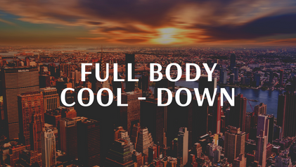Full Body cool - down
