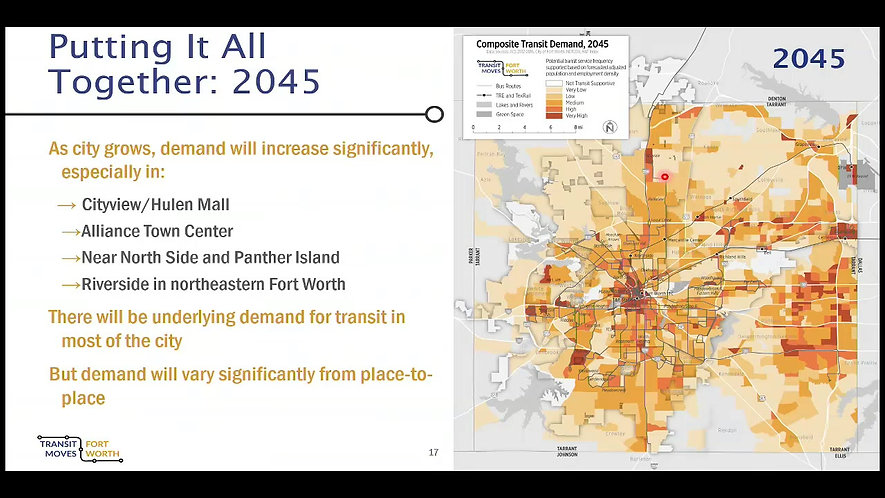 Transit Moves Fort Worth Presentation