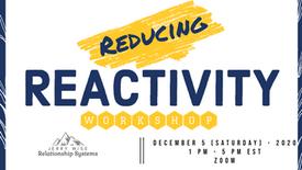 Reducing Your Reactivity - Workshop