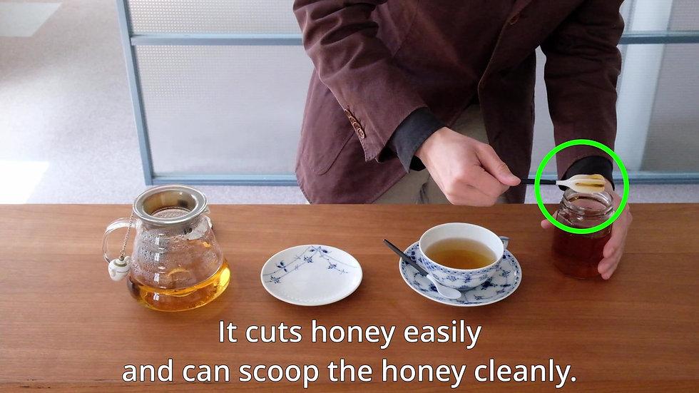 TEMO honey dipper intro