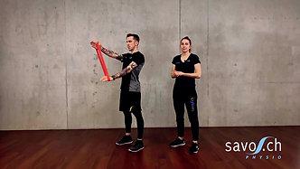 fit4homeoffice Mobilität, Stabilität & Kräftigung der Schultermuskulatur