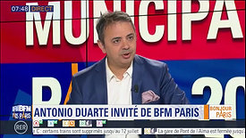 Antonio Duarte invité de BFM Paris