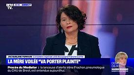 Laïcité : Jacqueline Ferrari (UDE) invitée de BFM TV