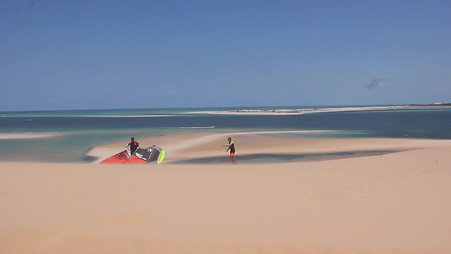 Best Kitesurfing in Mozambique