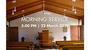 Evening Worship (22 March 2020)