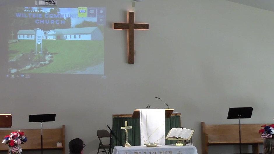 Wiltsie Video Sermon
