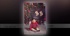 6 Month Christmas  Session