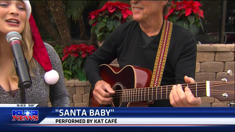 KAT CAFE PERFORMS LIVE   KUSI-TV HD  12-21-19 9am
