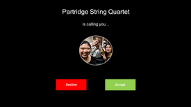 The Partridge String Quartet is excited to perform in Canberra International Music Festival 2021