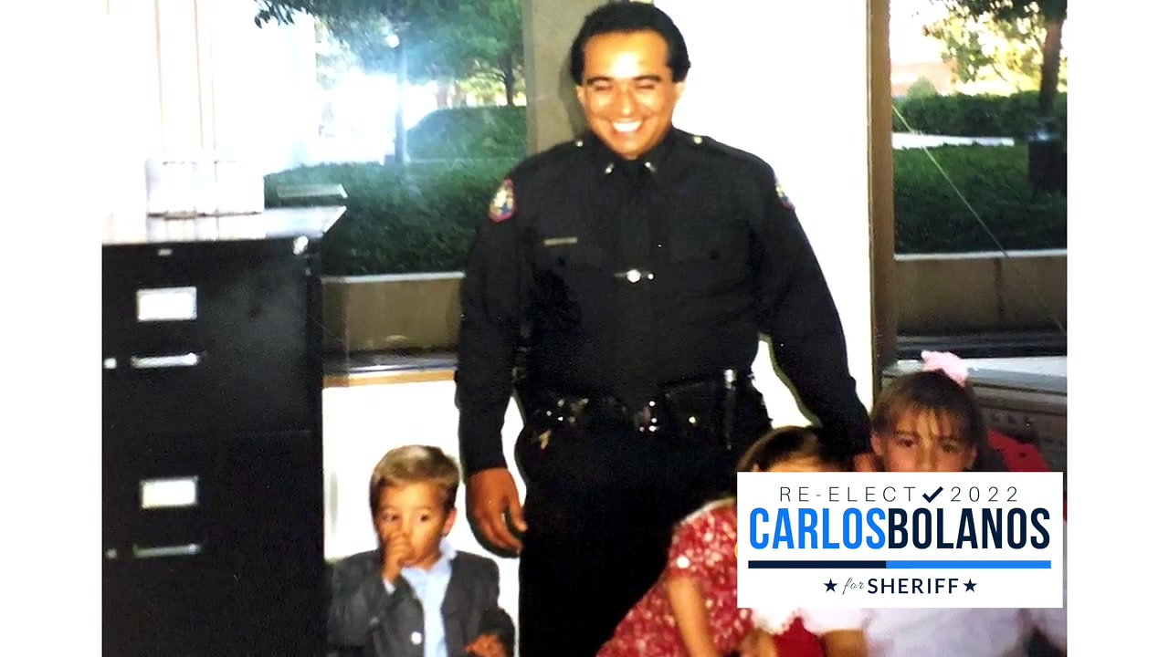 About Sheriff Carlos G. Bolanos