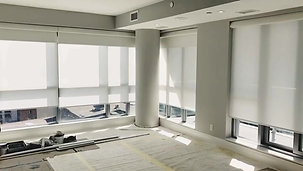Motorized Roller Shades with Blackout