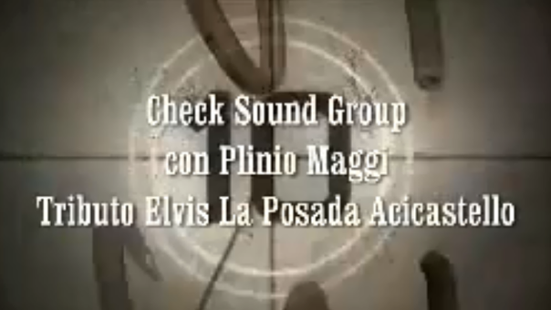 ELVIS TRIBUTE (Plinio Maggi e Checksoundgroup)