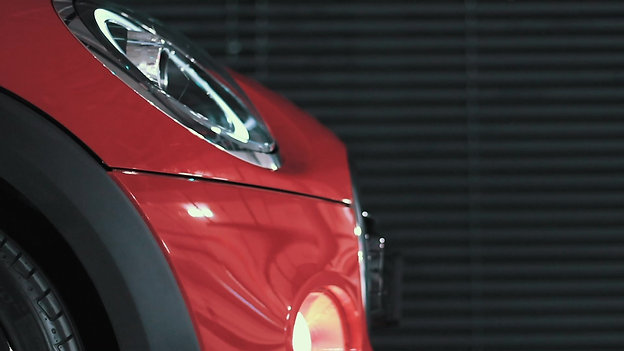 MINI Cooper S illumination.