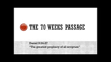 The 70th Week of Daniel by Pastor Ted Nienstedt