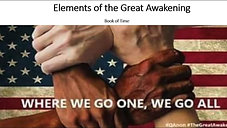 Elements of the Great Awakening by Lt. Col. Bryan Read